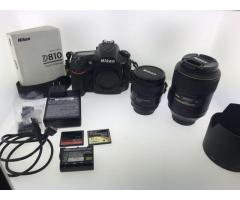 Nikon D D810 36.3 MP Aparat foto digital SLR: Număr Whatsap: 447452264959