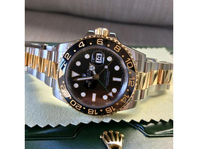 Available ROLEX GMT-MASTER II 116713 WATCH (WHATSAPP: +1 825 994-3253) - 1/3
